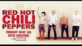 RED HOT CHILI PEPPERS (MAY 26th, 2017 - MTS CENTRE)