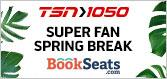 TSN 1050's SUPER FAN SPRING BREAK WITH BOOKSEATS.COM