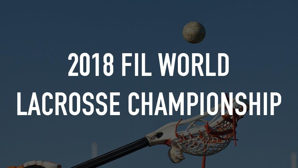 FIL Lacrosse Championships - Final: USA vs. Canada