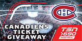 Win tickets to see the Montreal Canadiens!